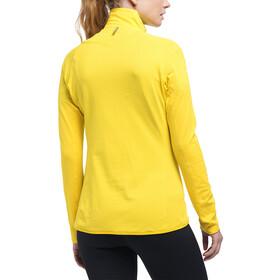 Haglöfs L.I.M Mid Veste Femme, signal yellow